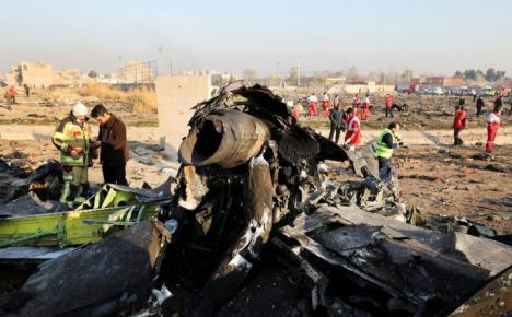 Irán reconoce que derribó el avión ucraniano en el que murieron 176 personas por error
