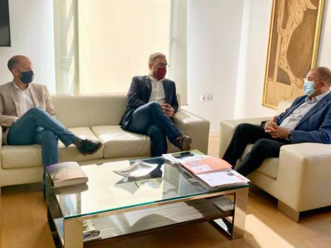 Los Alcaldes de Lorca y Totana solicitan al Gobierno Regional más medios sanitarios y prioridad en las ayudas para reducir el número de contagios por Covid en ambos municipios