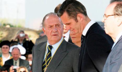 El rey Juan Carlos festeja en Ginebra el 50 cumpleaños de Urdangarin