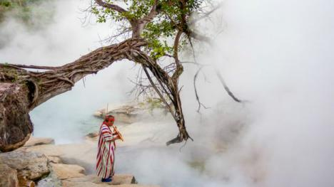 El río hirviente del Amazonas