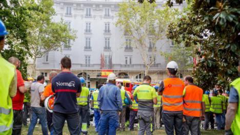 El derrumbe del Ritz, se ha saldado con un fallecido y once heridos