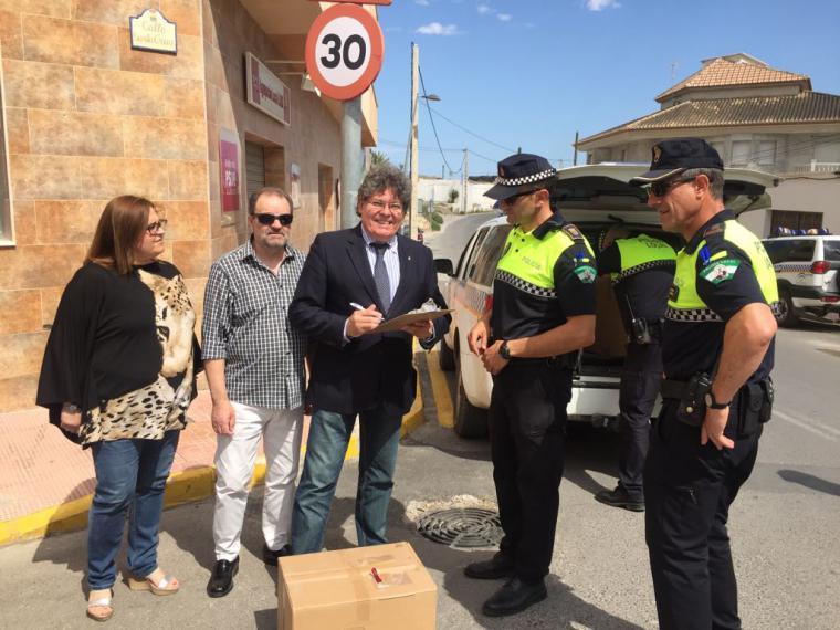 El Juzgado de Huercal Overa ordena a la Policía Local de Albox entregar los 'papeles' a Rogelio Mena