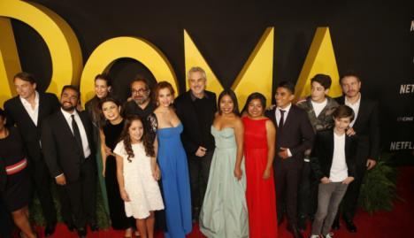 'Roma' Oscar por Mejor Película Extranjera