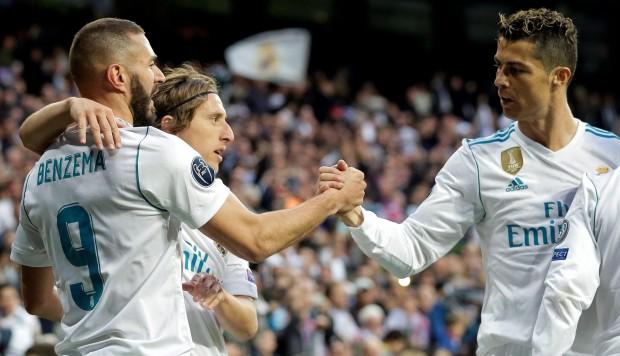 El Real Madrid empata a dos y se convierte en finalista de la Champions League