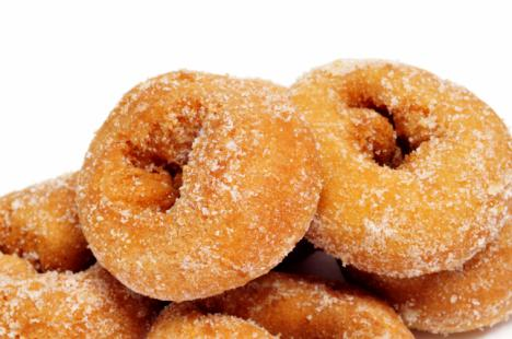 Rosquillas fritas de Semana Santa