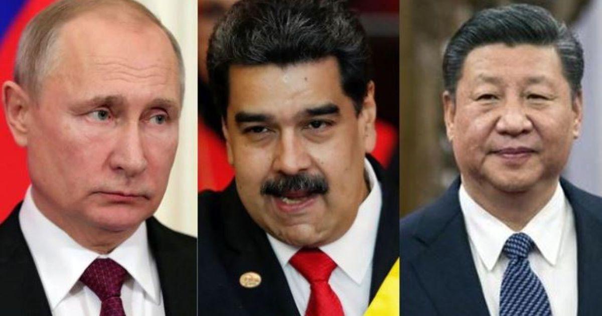 China y Rusia dan su respaldo a Nicolás Maduro
