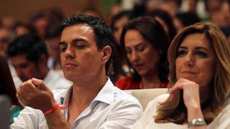 Pedro Sanchez se entrega a Susana Díaz y da la espalda a los sanchistas andaluces que le auparon a la Secretaría General