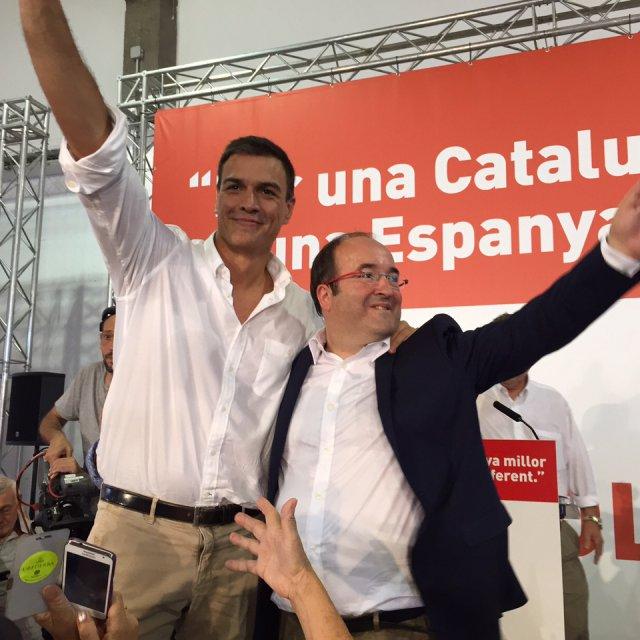 Sánchez e Iceta
