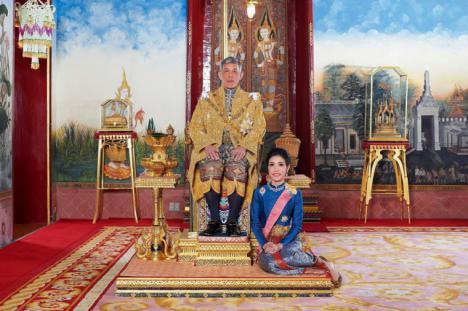 Se llama Sineenat Wongvajirapakdi, es la amante oficial del rey Vajiralongkorn de Tailandia
