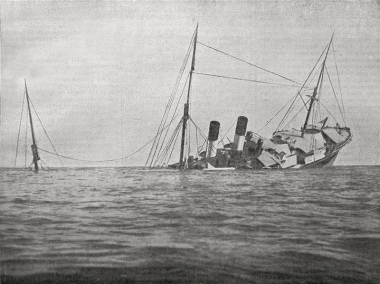 El naufragio civil más importante del Mediterraneo