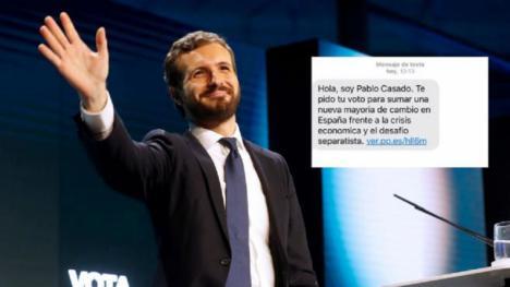 Editorial: 'Hola, soy Pablo Casado'...falto añadir, político y tramposo