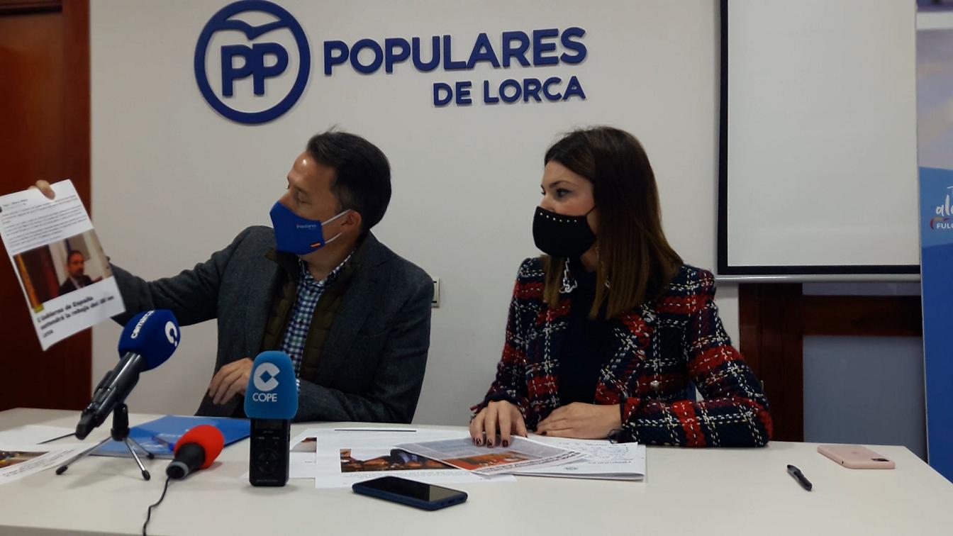 El PP llevará a la Asamblea Regional una moción que exige a Sánchez la bonificación del IBI a los afectados por los terremotos tras el rechazo del PSOE en el Congreso