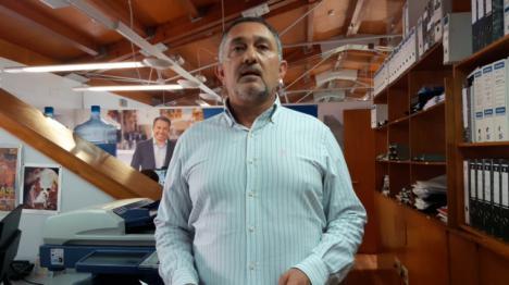 Ángel Meca exige al alcalde socialista de Lorca una rectificación pública inmediata por atribuirse el trabajo realizado por sus compañeros de corporación del PP