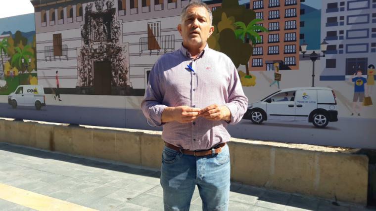 La obsesión del alcalde del PSOE por cargarse el proyecto de mejora urbana de la plaza de San Vicente le ha costado ya a los lorquinos 100.000 euros