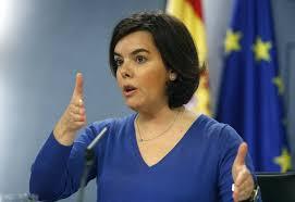Declaraciones de la Vicepresidenta Soraya Sáenz de Santamaría.