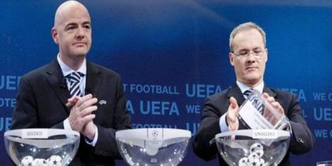 Estos son los grupos en la Champions League