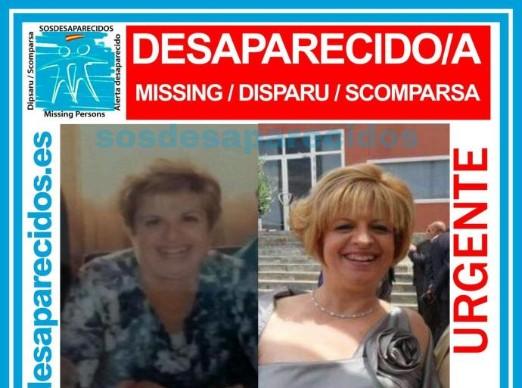 María Ignacia Carreira, desaparecida en agosto en Totana ha aparecido.