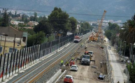 La Agencia Adif AV licita el suministro y transporte de balasto para los tramos Nonduermas-Sangonera y Totana-Lorca