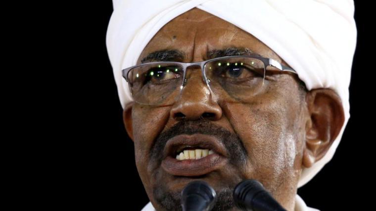 Omar al Bashir, actual presidente de Sudán, presenta la renuncia