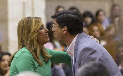 La direccion del PSOE de Andalucía antepone salvar a Susana a evitar que gobierne la derecha en Andalucía