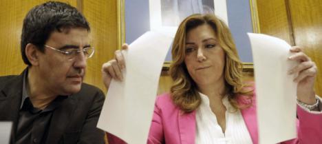 Caraballo el protegido de Susana Díaz que sigue cobrando su genoroso sueldo un mes después de ser imputado