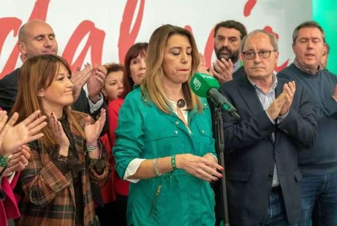 Editorial: LOS SANCHISTAS HAN CAVADO LA TUMBA DE SUSANA DÍAZ