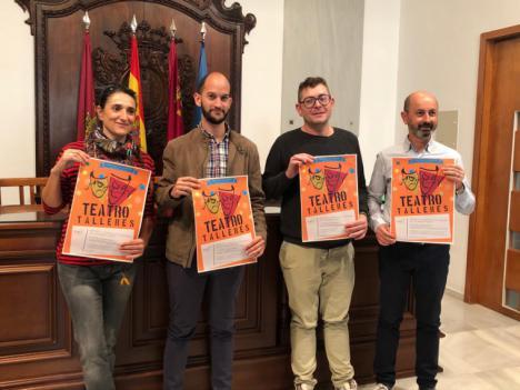 Más de 300 jóvenes lorquinos participarán en los talleres de teatro organizados por la Concejalía de Juventud