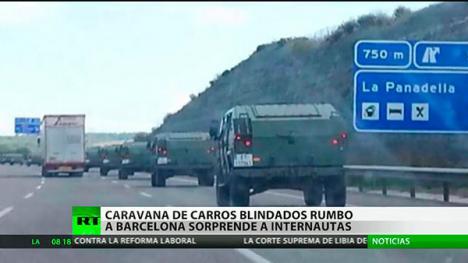 Puigdemont, dispuesto a crear su propio ejército en la República Catalana.