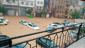 Caos por el temporal de lluvia en el Levante, que deja 250 litros por metro cuadrado en Xàbia