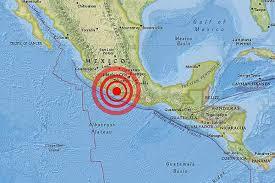 Riesgo de tsunami tras el terremoto en México de 8,4 grados.