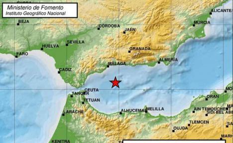 Terremoto en Málaga