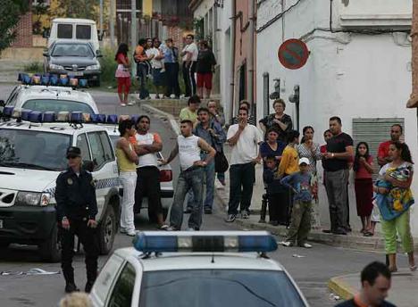 Dos mujeres heridas durante un tiroteo en Alzira y tres personas arrestadas