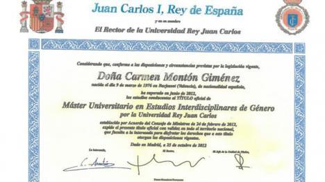 Master para todos en la Juan Carlos I, incluidos los socialistas.