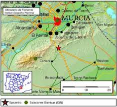 Terremoto de 2,7 grados en Murcia