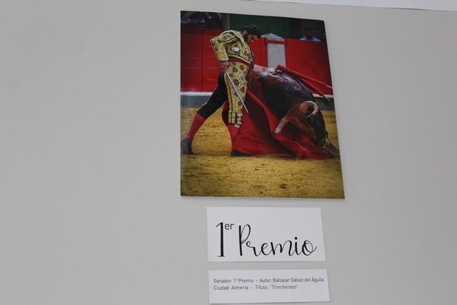 El almeriense Baltasar Galvez del Águila Primer premio nacional de fotografía taurina