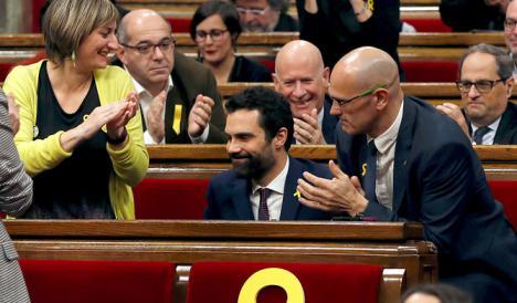 ¿Quién es el nuevo president del parlament catalán?
