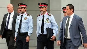 La Fiscalía pedirá prisión para Trapero, Laplana , Sánchez y Cuixart