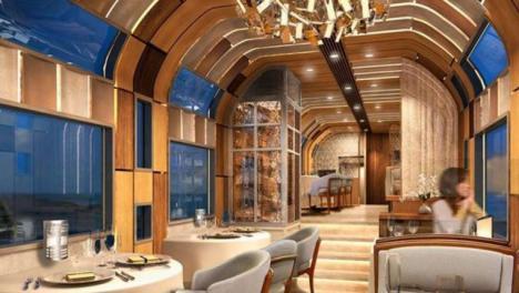 El tren más lujoso y moderno del mundo ya rueda en Japón