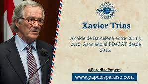 El exalcalde de Barcelona y actual portavoz del PDeCAT en el consistorio barcelones, no aclara si tiene dinero en paraisos fiscales.