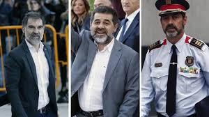 Jaque mate de la Guardia Civil a Trapero, Sánchez y Cuixart.