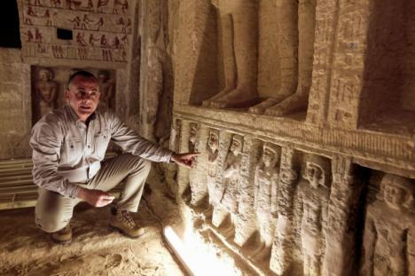 NUEVO DESCUBRIMIENTO EN EGIPTO: SE TRATA DE UNA TUMBA DE HACE 4.400 AÑOS
