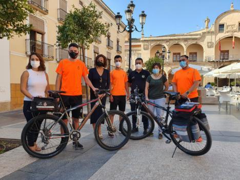 El Servicio de Emergencias y Protección Civil de Lorca pone en marcha la Unidad en Bicicleta que permitirá agilizar atenciones que requieran una intervención rápida