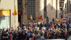 El dificil papel de las distintas policías en Cataluña