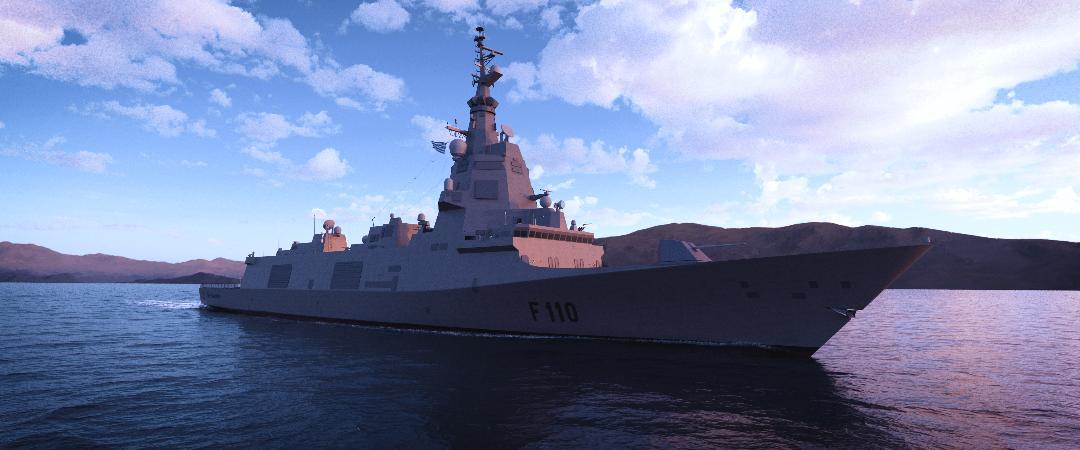 """Navantia ofrece la F-110 a la Marina Griega y propone """"una ambiciosa colaboración industrial en el Mediterráneo"""""""