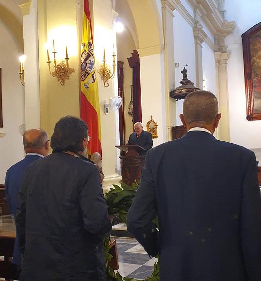 Los Especialistas de la Armada de las promociones XX y XXI conmemoran en San Fernando el 50 aniversario del ingreso en la Armada