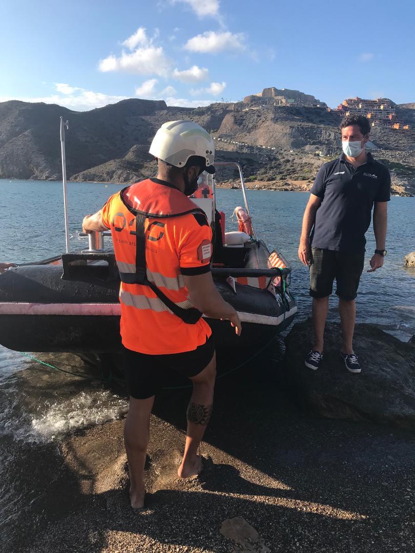 """La campaña de excavaciones en la isla del Fraile de Águilas desvela nuevos secretos de un yacimiento """"único"""" en el Mediterráneo"""