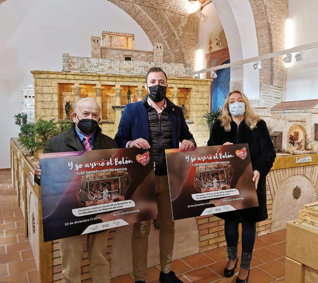 """La Concejalía de Turismo organiza """"Y se armó el Belén"""", una ruta benéfica On streaming por los belenes más representativos de Lorca"""