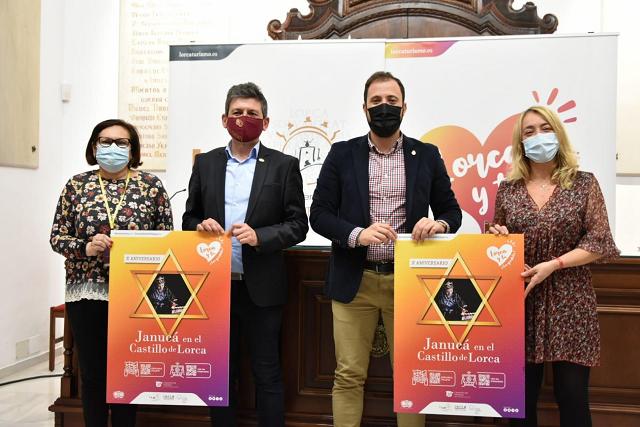 Lorca celebrará mañana sábado en la Sinagoga del Castillo la décima Janucá