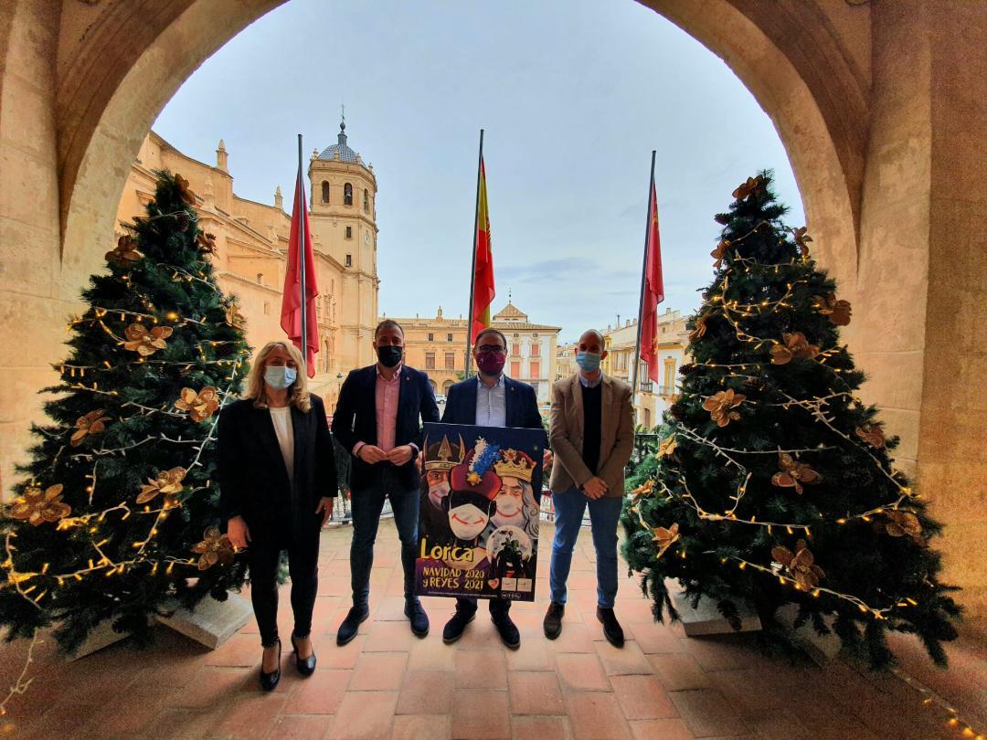 El Ayuntamiento de Lorca programa más de medio centenar de actividades  para que niños y mayores disfruten de la Navidad más especial, todo adaptado a las circunstancias sanitarias