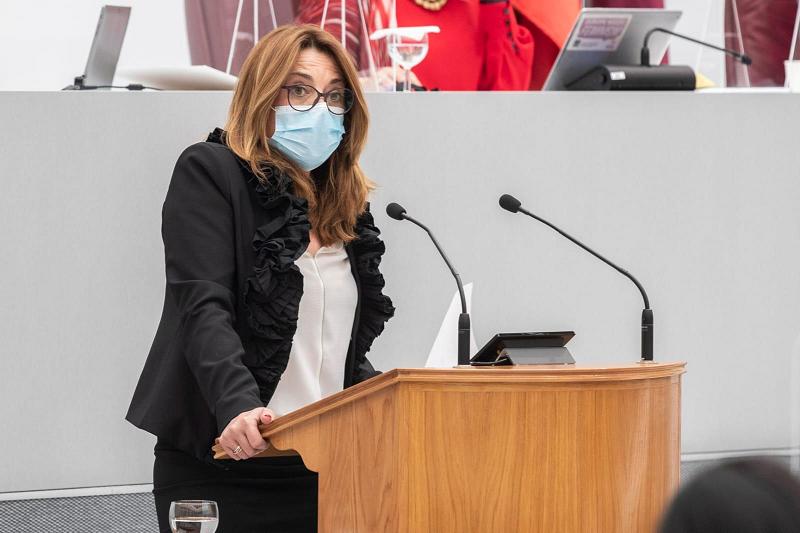 """Virginia Lopo: """"La tránsfuga Valle Miguélez demuestra no conocer el área de Empleo al votar en contra del reparto de fondos de la Estrategia de Apoyo Activo para el empleo2021-2024"""""""
